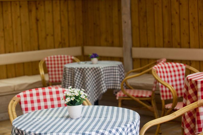 Rural style restaurant
